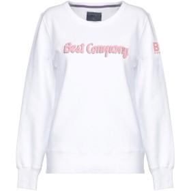《期間限定セール開催中!》BEST COMPANY レディース スウェットシャツ ホワイト XS コットン 100%