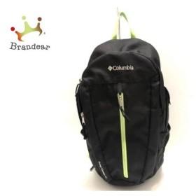 コロンビア columbia リュックサック 黒×ライトグリーン ナイロン   スペシャル特価 20190718
