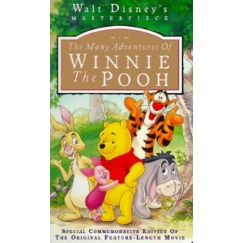 The Many Adventures of Winnie the Pooh [VHS] [Import](中古品)