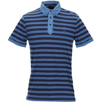 《期間限定セール開催中!》HENRY COTTON'S メンズ ポロシャツ ブルー M コットン 100%