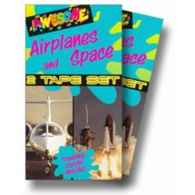 Awesome Airplanes & Space [VHS] [Import](中古品)