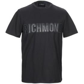 《期間限定 セール開催中》JOHN RICHMOND メンズ T シャツ ブラック S コットン 100%