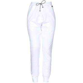 《セール開催中》ALESSANDRO DELL'ACQUA レディース パンツ ホワイト S コットン 100%