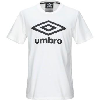 《9/20まで! 限定セール開催中》UMBRO メンズ T シャツ ホワイト XL コットン 100%