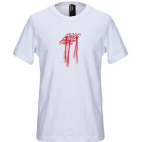 《セール開催中》OMC メンズ T シャツ ホワイト XS コットン 100%