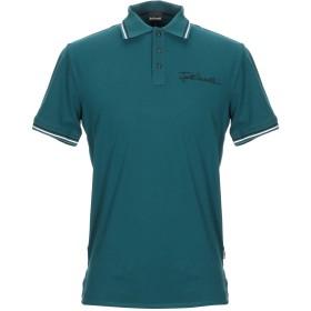 《期間限定セール開催中!》JUST CAVALLI メンズ ポロシャツ ディープジェード XS コットン 92% / ポリウレタン 8% / ポリエステル