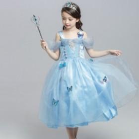 子供用ドレス 子供ドレス こどもドレス キッズドレス プリンセスドレス コスプレ衣装 コスチューム 仮装 変装 ワンピース 女の