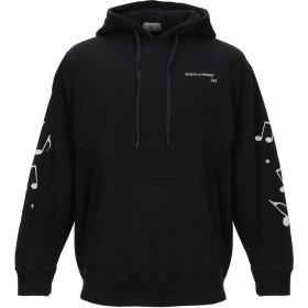 《期間限定 セール開催中》SAGE メンズ スウェットシャツ ブラック S コットン 100%