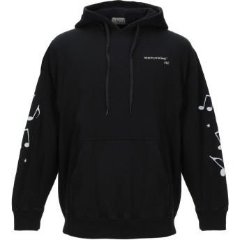 《セール開催中》SAGE メンズ スウェットシャツ ブラック S コットン 100%
