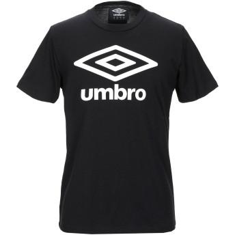 《9/20まで! 限定セール開催中》UMBRO メンズ T シャツ ブラック M コットン 100%