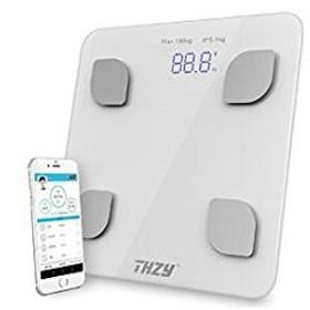 体重計 スマホ対応 体脂肪率/BMIなど測定 スマホ連動 アプリで毎日手軽に体重管理 体重・体組成計・体脂肪計肥満の予防・改善サポーター