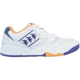 《期間限定 セール開催中》KAPPA メンズ スニーカー&テニスシューズ(ローカット) ホワイト 41 革 / 紡績繊維