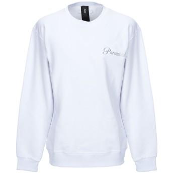 《9/20まで! 限定セール開催中》OMC メンズ スウェットシャツ ホワイト M コットン 100%