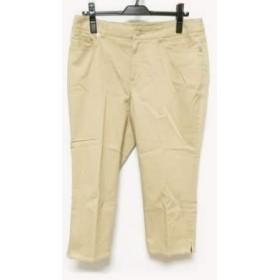 【中古】 ニジュウサンク パンツ サイズ46 XL レディース ライトブラウン Vingt-trois arrondissements