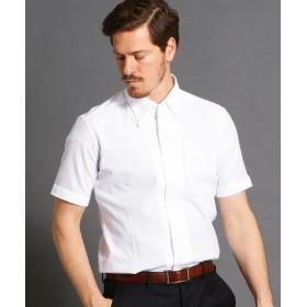 ムッシュニコル ボタンダウン半袖ドレスシャツ メンズ 09ホワイト 50(LL) 【MONSIEUR NICOLE】