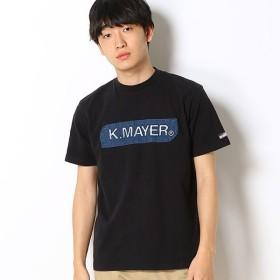 [マルイ]【セール】ブランドロゴT(デニムエンボス)/クリフメイヤー(メンズ)(KRIFF MAYER)