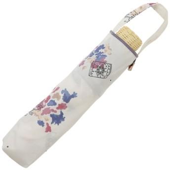 [マルイ]【セール】日傘【Disney(ディズニー)】(手開き式折りたたみ傘/晴雨兼用/UVカット率99%以上/ラインドロップス(LINE DROPS)