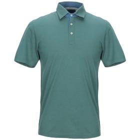《期間限定セール開催中!》VIADESTE メンズ ポロシャツ ダークグリーン 50 コットン 100%