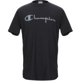 《9/20まで! 限定セール開催中》CHAMPION x PAOLO PECORA メンズ T シャツ ブラック S コットン 100%