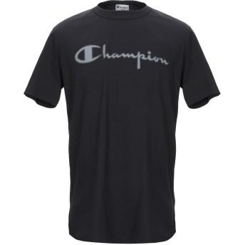 《セール開催中》CHAMPION x PAOLO PECORA メンズ T シャツ ブラック S コットン 100%