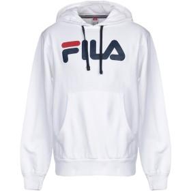 《9/20まで! 限定セール開催中》FILA メンズ スウェットシャツ ホワイト L コットン 100%