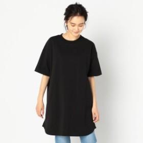 フレディ&グロスター レディース(FREDY&GLOSTER)/ヘビー天竺チュニックTシャツ
