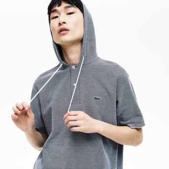 [マルイ]【セール】フード付きポロシャツ/ラコステ(LACOSTE)