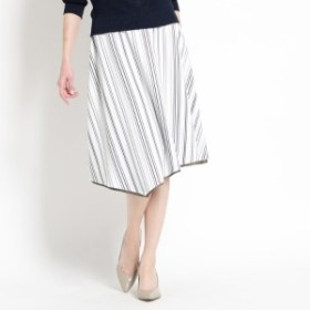 クード シャンス(COUP DE CHANCE)/【洗える】アシメヘムリバーシブルスカート