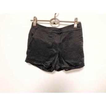 【中古】 アレキサンダーマックイーン ALEXANDER McQUEEN ショートパンツ サイズ42 XL レディース 黒