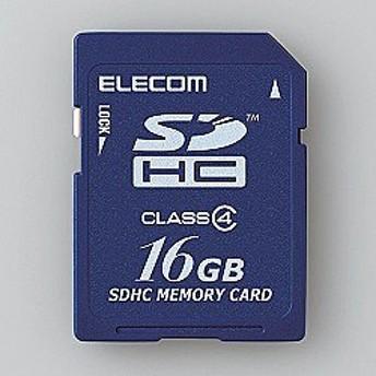 ELECOM [MF-FSD016GC4/H] SDHCカード/Class4/16GB/法人専用/簡易パッケージ