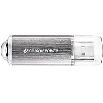 シリコンパワー [SP016GBUF2M01V1S] USBフラッシュメモリ ULTIMA-II I-Series 16GB シルバー 永久保証