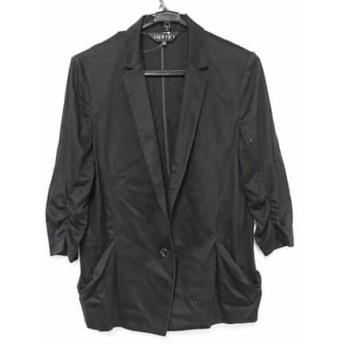 【中古】 インディビ INDIVI ジャケット サイズ44 L レディース 黒