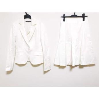 【中古】 ミッシェルクラン MICHELKLEIN スカートスーツ サイズ38 M レディース アイボリー
