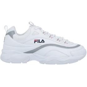 《期間限定セール開催中!》FILA レディース スニーカー&テニスシューズ(ローカット) ホワイト 5 革 / 紡績繊維