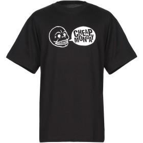 《期間限定セール開催中!》CHEAP MONDAY メンズ T シャツ ブラック XS コットン 100%