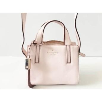 【中古】 ケイトスペード ハンドバッグ グレイストリート ミニドミニク WKRU3509 ピンク ミニサイズ