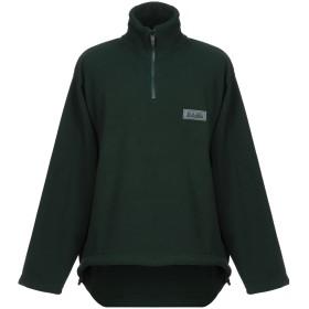 《期間限定セール開催中!》NAPAPIJRI メンズ スウェットシャツ グリーン S ポリエステル 100%