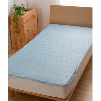 mofua cool 接触冷感 通気性に優れた エアー敷パッド(選べる6サイズ) 敷きパッド・ベッドパッド