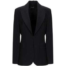 《期間限定セール開催中!》ATOS LOMBARDINI レディース テーラードジャケット ブラック 46 レーヨン 57% / ナイロン 35% / ポリウレタン 8%