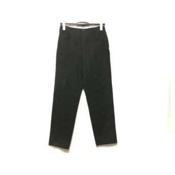【中古】 マーガレットハウエル MargaretHowell パンツ サイズ2 M レディース 美品 黒