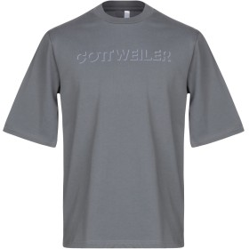 《セール開催中》COTTWEILER メンズ T シャツ グレー XL コットン 100%