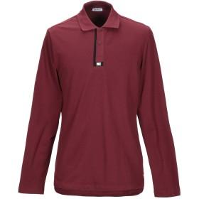 《セール開催中》BIKKEMBERGS メンズ ポロシャツ ディープパープル XS コットン 95% / ポリウレタン 5%