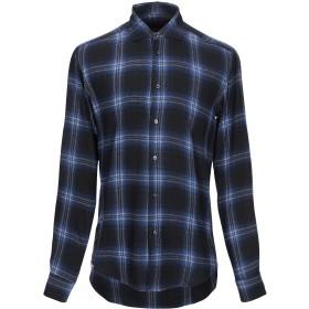 《期間限定セール開催中!》BRIAN DALES メンズ シャツ ブルー 40 レーヨン 100%