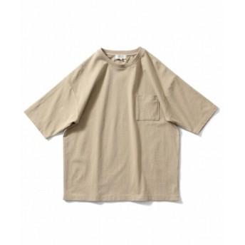 B:MING by BEAMS ヘビーウェイト ドロップショルダーポケットTシャツ メンズ