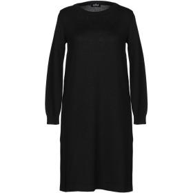 《期間限定セール開催中!》EL LA LAGO DI COMO レディース ミニワンピース&ドレス ブラック XS ウール 100%