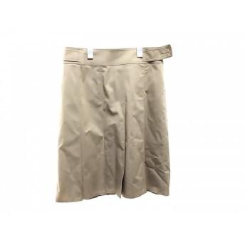 【中古】 バーバリーロンドン Burberry LONDON スカート サイズ40 L レディース ライトブラウン