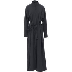 《期間限定セール開催中!》ISABEL BENENATO レディース ロングワンピース&ドレス ブラック 40 コットン 100%