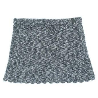 CHANEL / シャネル レディース スカート 色:黒系x白系xグレー系(ツイード) サイズ:38(S位)