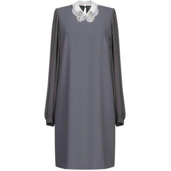 《期間限定セール開催中!》HANITA レディース ミニワンピース&ドレス 鉛色 XS ポリエステル 100%