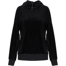 《期間限定 セール開催中》COLMAR レディース スウェットシャツ ブラック XS コットン 76% / ポリエステル 24%